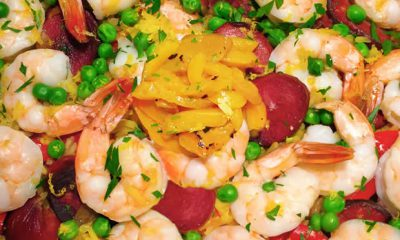 Hoffy Sausage & Shrimp Paella