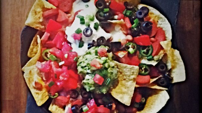 Frankly Hot Dog Macho Nachos