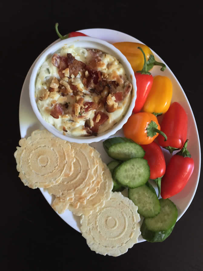 Blue Cheese and Bacon Dip