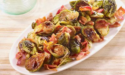 HOFFY Bacon Balsamic Roasted Brussels Sprouts