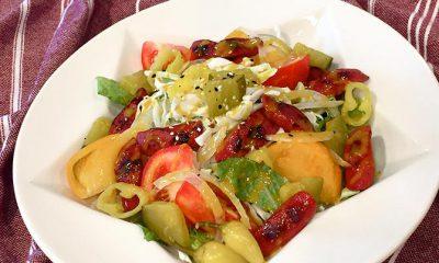 HOFFY Chicago Style Hot Dog Salad Paleo Style