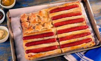 HOFFY Hot Dog Stars and Stripes