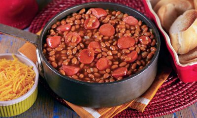 HOFFY Franks and BAKED BEANS