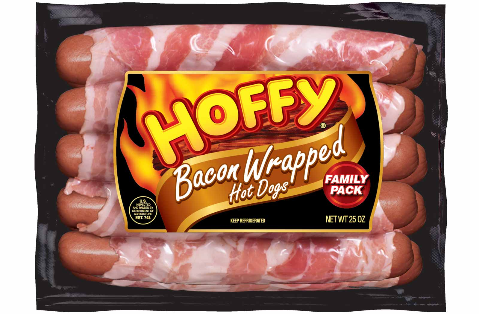 Bacon Wrapped Hot Dogs – Family Pack