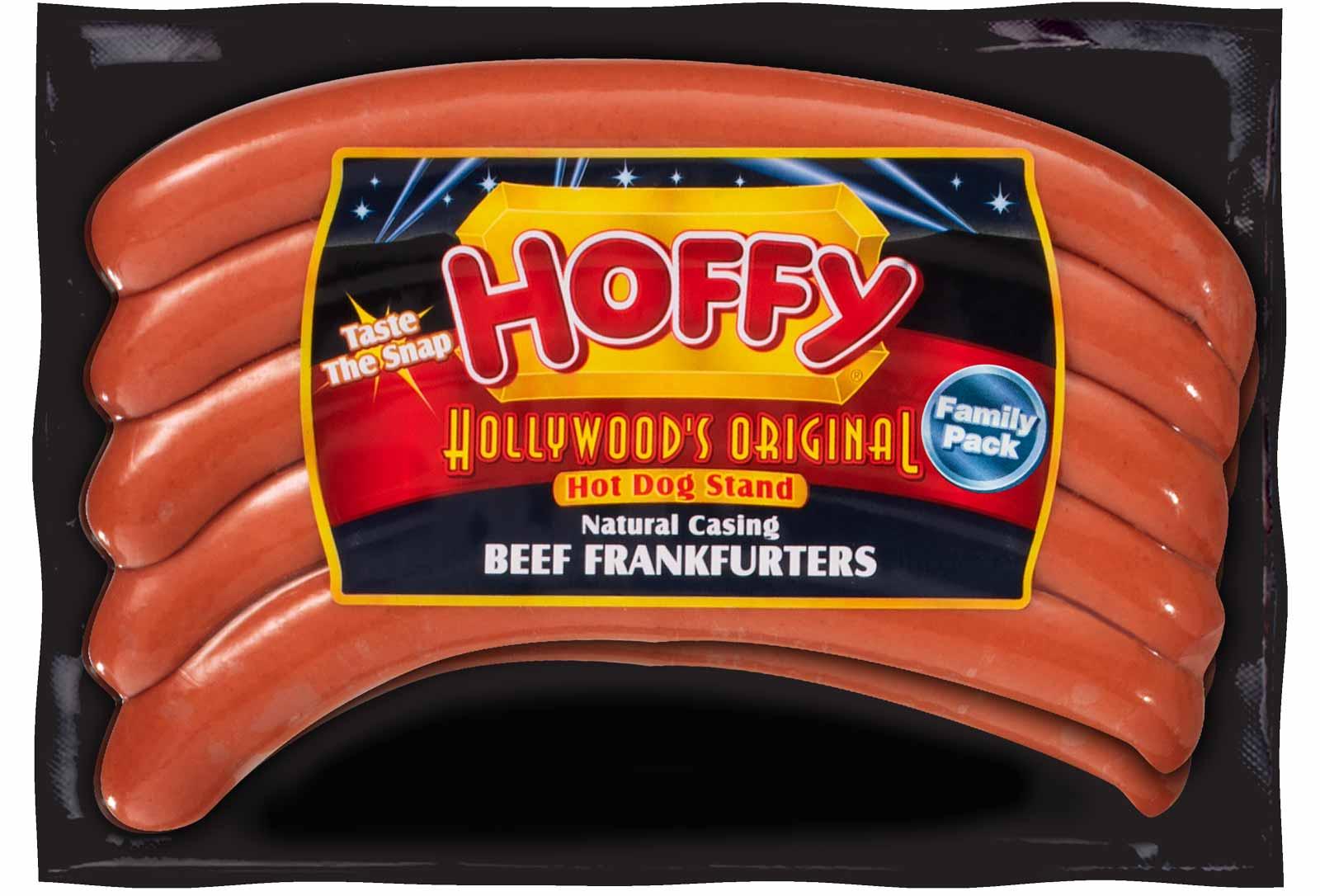 Hollywood's Original Natural Casing Premium Beef Frankfurters – Family Pack