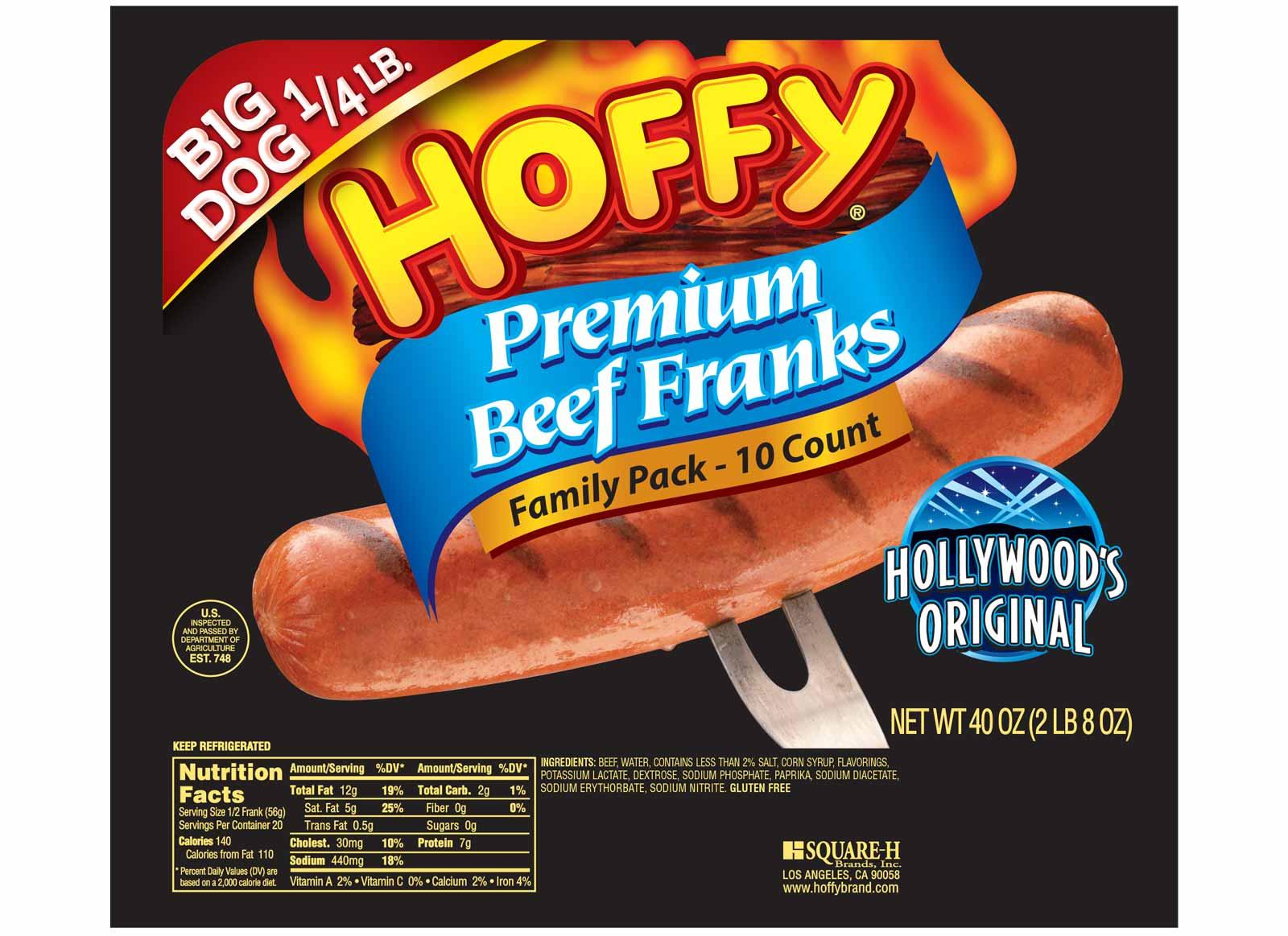 Big Dog Quarter Pound Premium Beef Franks – Family Pack