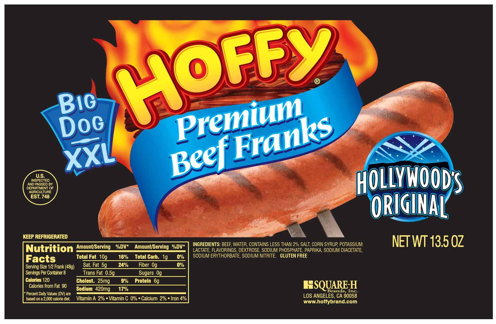 Big Dog XXL Premium Beef Franks