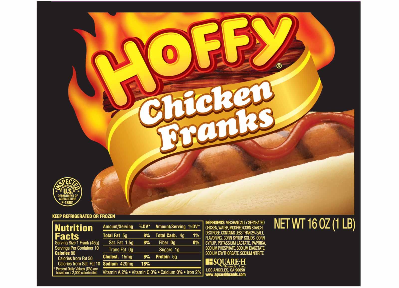 Chicken Franks – 16 oz