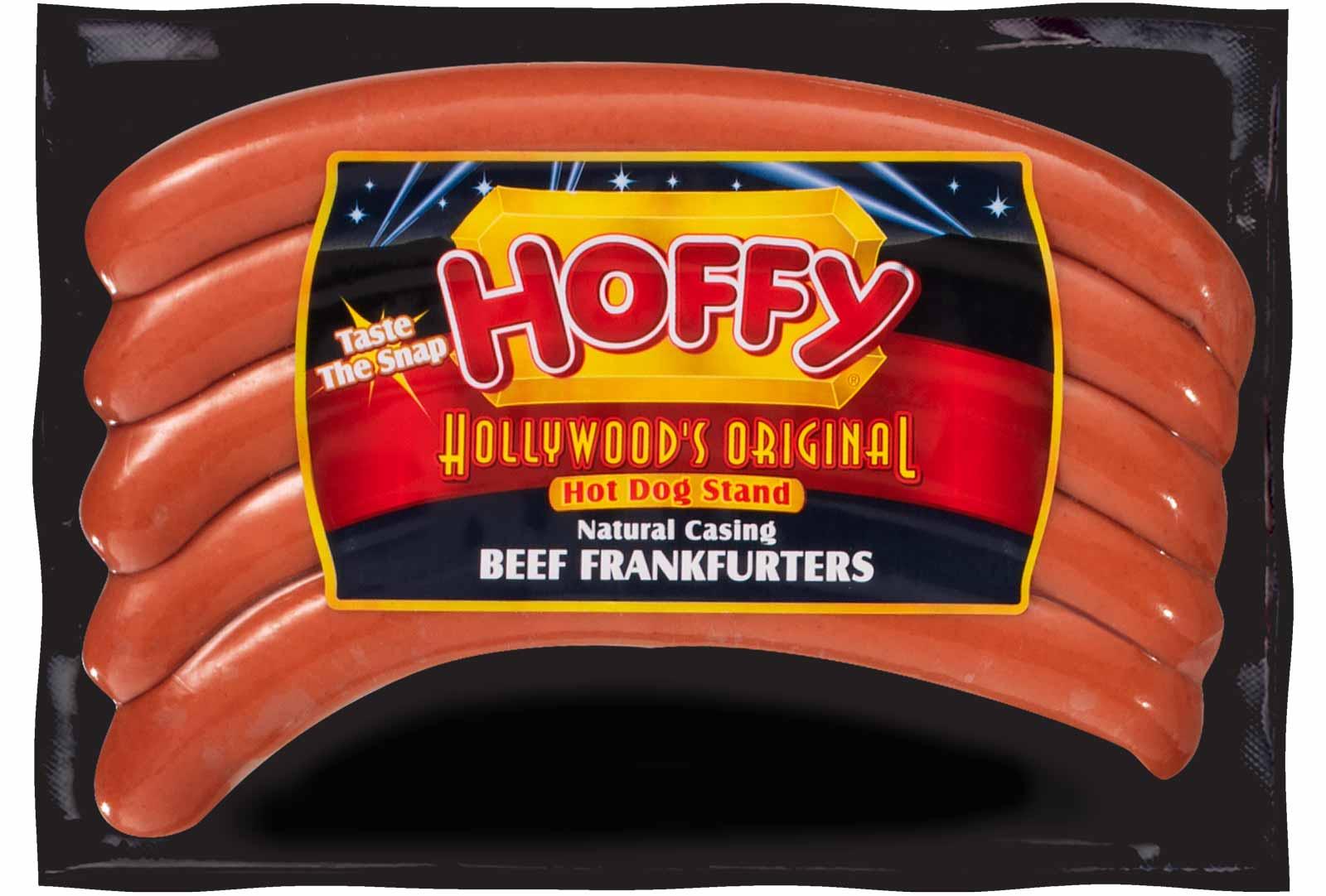 Hollywood's Original Natural Casing Premium Beef Frankfurters