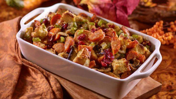 Brioche Italian Sausage Cranberry Stuffing