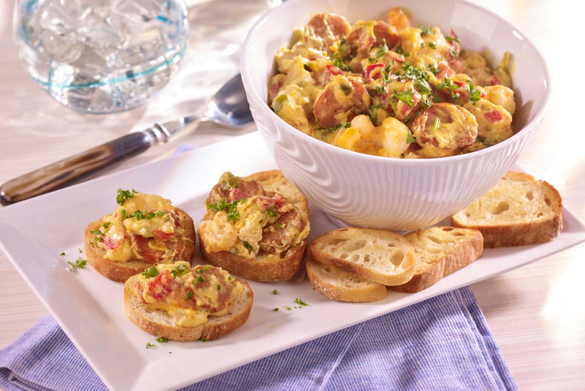 Hoffy Gumbo Dip for Vegetables, Croutons or bageutte