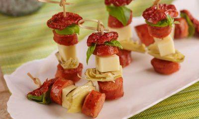 Hoffy Italian Sausage Skewers Appetizer