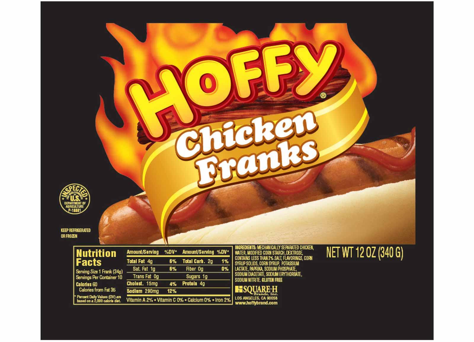 Chicken Franks – 12 oz
