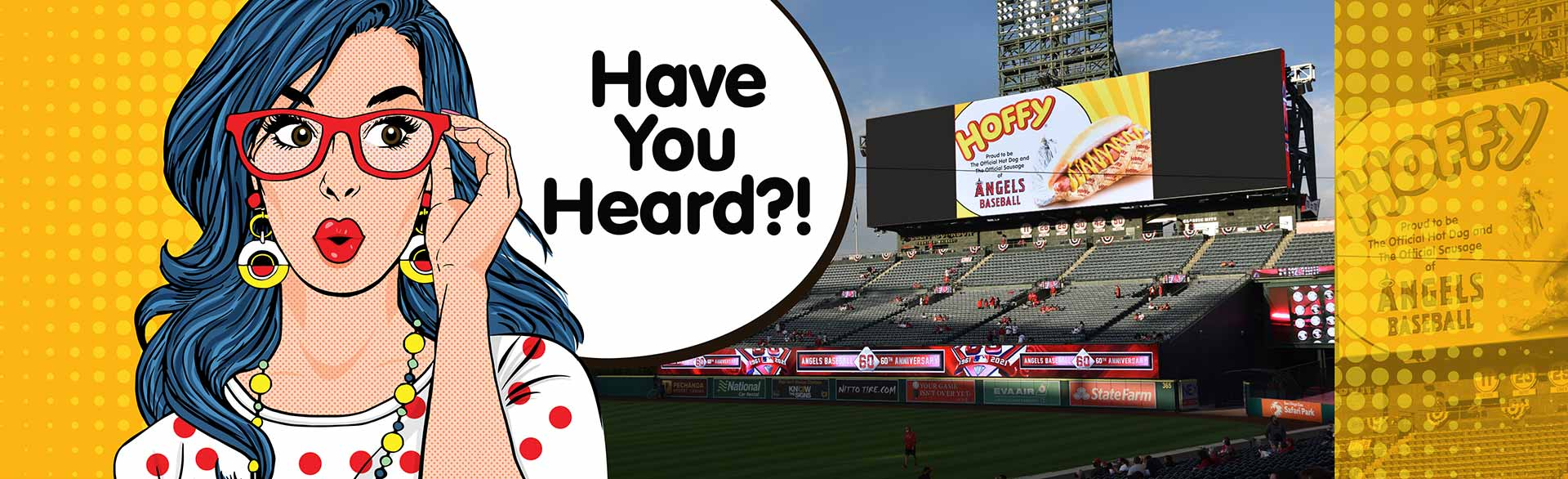 Have You Heard? Hoffy at Angels Stadium